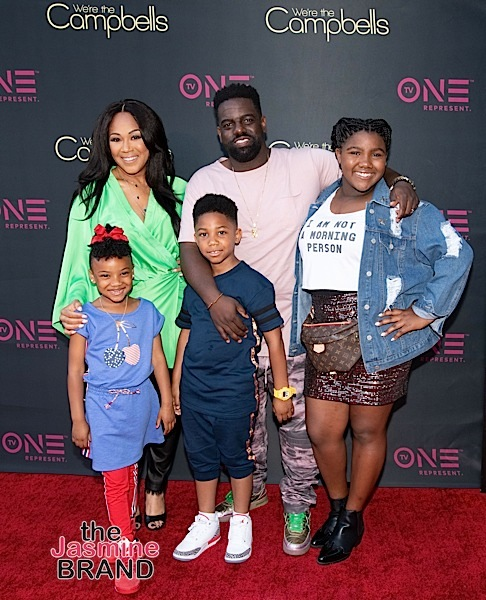 "Erica & Warryn Campbell's ""We're The Campbells"" Premiere: Dorien Wilson, Shanice, B. Slade Attend [Photos]"