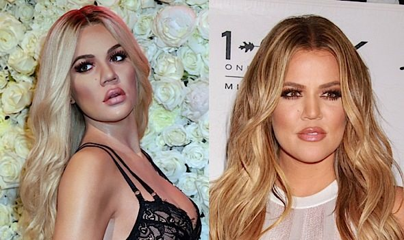 Khloe Kardashian Is Now A Wax Figure!