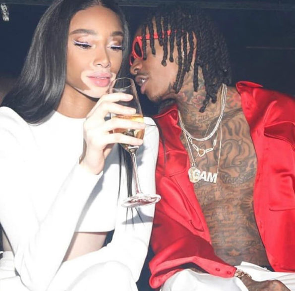 Wiz Khalifa Confirm Dating Model Winnie Harlow Thejasminebrand