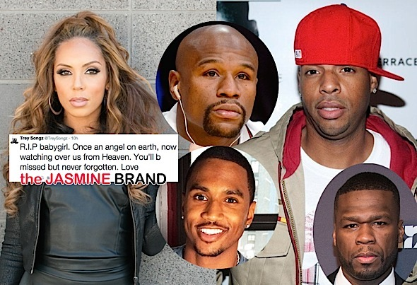 "50 Cent Says Floyd Mayweather's BFF Killed ""Hit The Floor"" Actress Because They Were Having An Affair: You F*cked His Wife & Blamed Trey Songz"