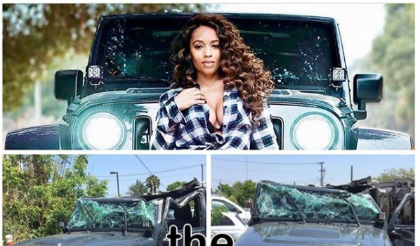 """EXCLUSIVE: Melyssa Ford """"Lucky"""" To Be Alive After Car Accident w/ 18-Wheeler Truck"""