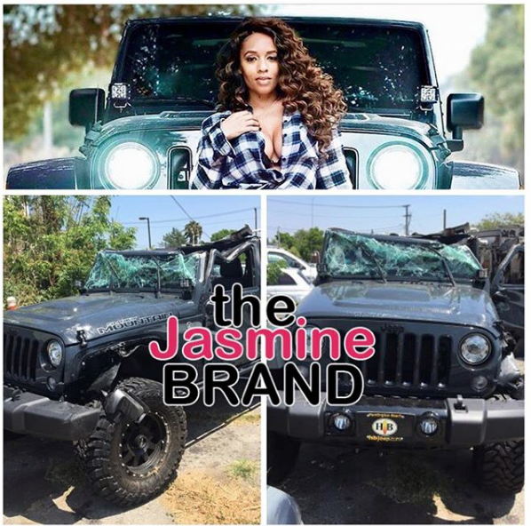 "EXCLUSIVE: Melyssa Ford ""Lucky"" To Be Alive After Car Accident w/ 18-Wheeler Truck"