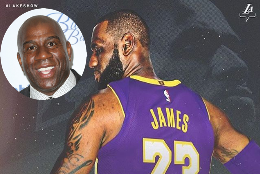 Kobe Bryant Responds to LeBron James Officially Signing w/ Lakers, Magic Johnson Considers LeBron Best Player in the World