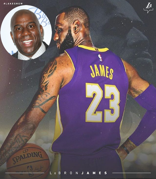 timeless design ace94 51058 Kobe Bryant Responds to LeBron James Officially Signing w ...
