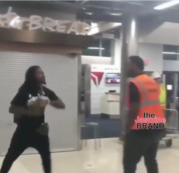 Pacman Jones Involved In Brawl w/ Airport Employee [VIDEO]