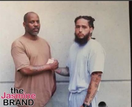 DMX Poses In Jail With Inmate