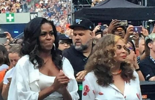 Michelle Obama Brings Daughter Sasha To Beyonce Concert [VIDEO]