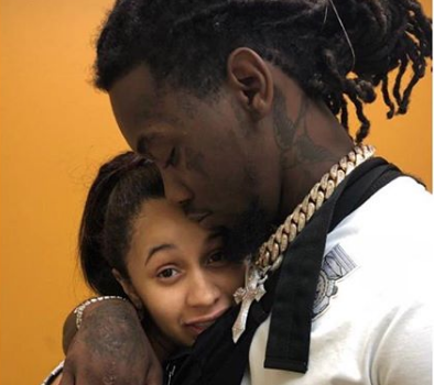 Cardi B & Offset Take Newborn Daughter To Doctor [Photo]
