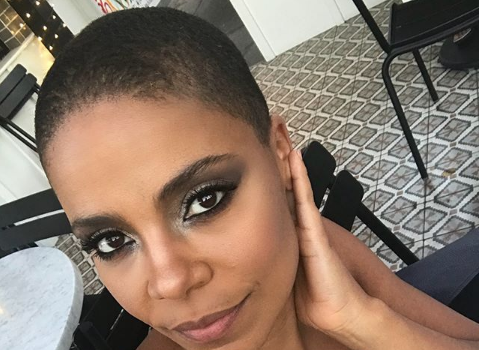Sanaa Lathan Shows Off Her Bald Head