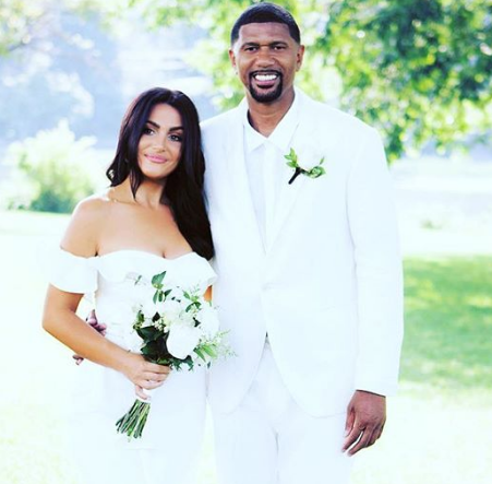Jalen Rose mit charmanter, Ehefrau Molly Qerim