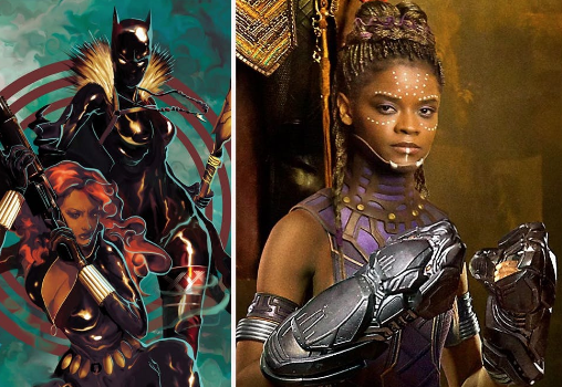 Black Panther Character Shuri Lands Comic Book Spinoff