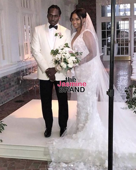 Pusha T Marries Longterm Girlfriend Virginia: Kanye West, Kim Kardashian, Pharrell, Trey Songz Attend [Photos]