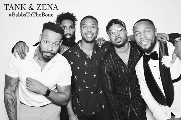 Tank Zena Foster Married Jamie Foxx Michael B Jordan Kelly
