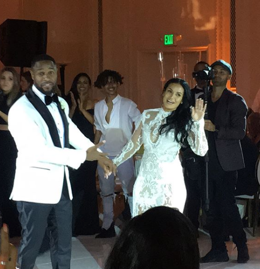 Tank & Zena Foster Married: Jamie Foxx, Michael B. Jordan, Kelly Rowland, LeToya Luckett Attend
