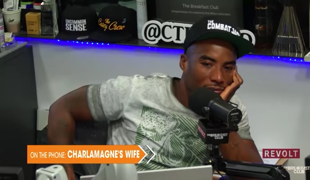 Charlamagne's Wife Calls Into Radio Show, Denies She Was Raped 1st Time They Had Sex: I Was Fully Coherent! [VIDEO]
