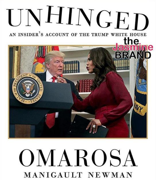Omarosa Releases Trump Tell-All Book Cover, Allegedly Snagged 7 Figure Deal