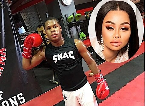 Blac Chyna Dating 19-Year-Old Boxer Devin Haney?