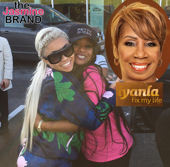 Blac Chyna's Mom Tokyo Toni Begs Iyanla Vanzant To Fix Her Life, Has Trouble Pronouncing Her Name