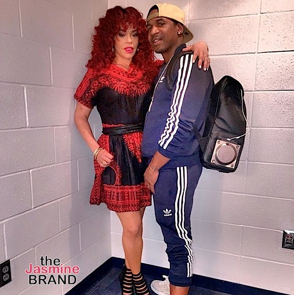 Faith Evans & Stevie J Hint They're Planning To Have A Child Together: I'm pretty fertile.