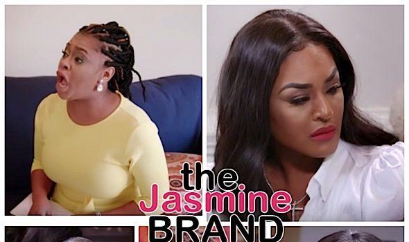 Keyshia Cole's Sister Neffe, Ex Basketball Wives Star Brandi Maxiell, Singer Monifah & Potomac Housewives Charrisse Jackson Jordan In Tears on 'Iyanla: Fix My Life'