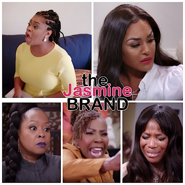 Keyshia Cole's Sister Neffe, Ex Basketball Wives Star Brandi Maxiell, Singer Monifah & Potomac Housewives Charrisse Jackson Jordan In Tears on 'Iyanla: Fix My Life'