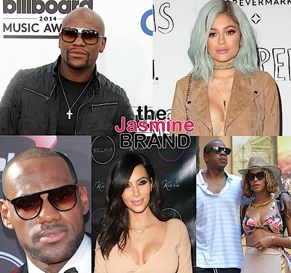 Floyd Mayweather Tops List of Highest Paid Celebs + Kylie Jenner Beats Out LeBron James, Kim Kardashian, Jay-Z & Beyonce