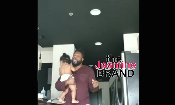 Malcolm-Jamal Warner Dances In His Undies With Daughter