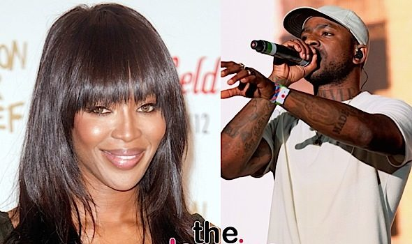 Naomi Campbell Proves She's NOT Pregnant By Rapper Skepta