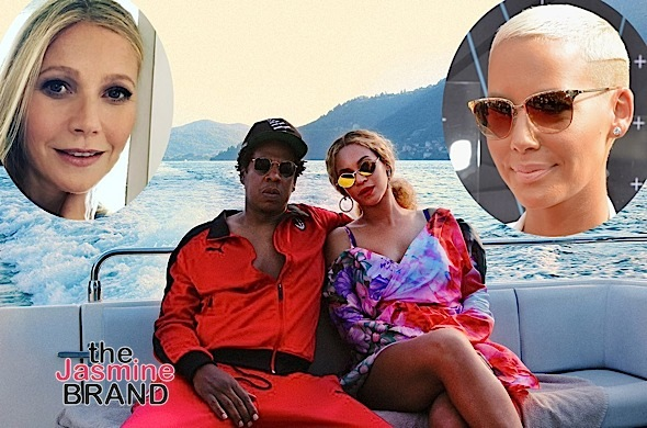 Amber Rose – I Was Joking When I Said Gwyneth Paltrow Had An Affair w/ Jay-Z