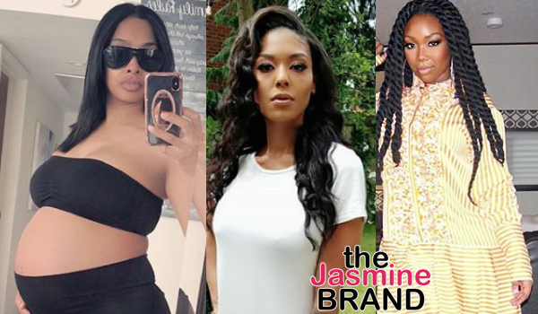 Love & Hip Hop's Moniece Slaughter Says Brandy Is Expecting, Explains Why She Attacked A Pregnant Princess Love