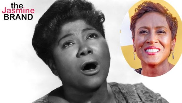 Robin Roberts Prepping Mahalia Jackson Movie & Life ofAlexis Manigo Who Was Abducted From Hospital As A Baby