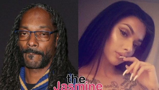 Snoop Dogg Caught Allegedly Sliding Into Celina Powell's DMs, Rapper Says She's 'Clout Chasing'