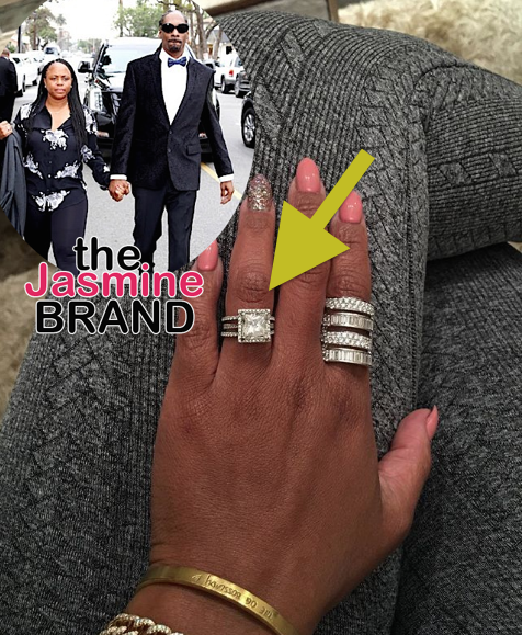 Snoop's Wife Shante Broadus Flashes Wedding Ring Amidst Cheating Rumors