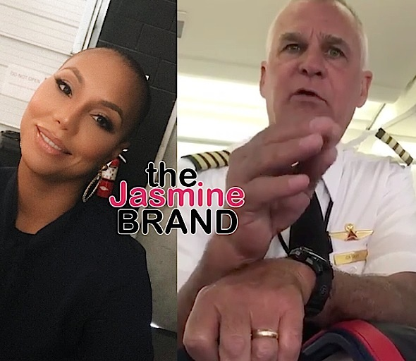 Tamar Braxton Says Delta Pilot Called Her N-Word, Tried To Fight Her Manager