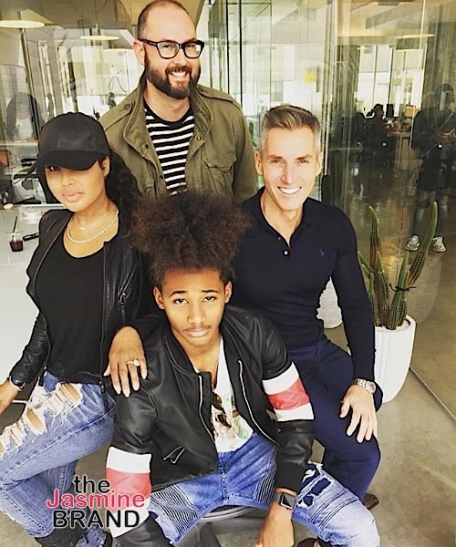 Toni Braxton's 15-Year-Old Son Signs Contract w/ Modeling