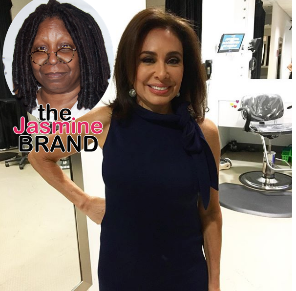 Whoopi Goldberg Denies Spitting On Jeanine Pirro During 'The View' Backstage Altercation