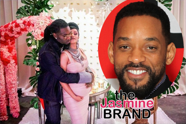 Will Smith Shares Personal Message To Cardi B & Offset