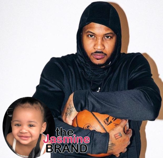 Carmelo Anthony's Alleged Daughter From Mistress Bears a Striking Resemblance