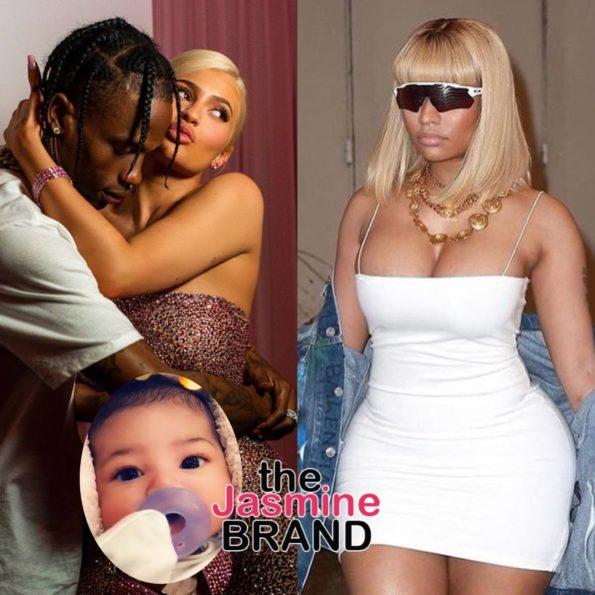 d21db37dad74 Nicki Minaj Debuts #2 On The Charts, Blames Travis Scott, Kylie Jenner,  Stormi And Spotify