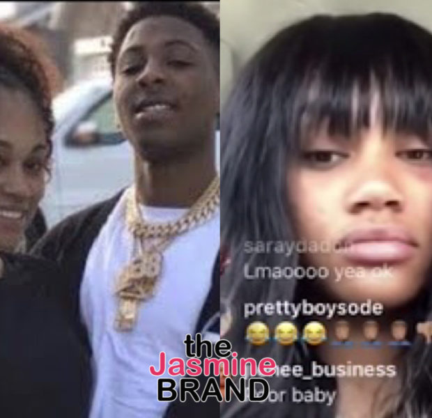 NBA Youngboy's Pregnant Ex-Girlfriend Explains Her Black Eye [VIDEO]