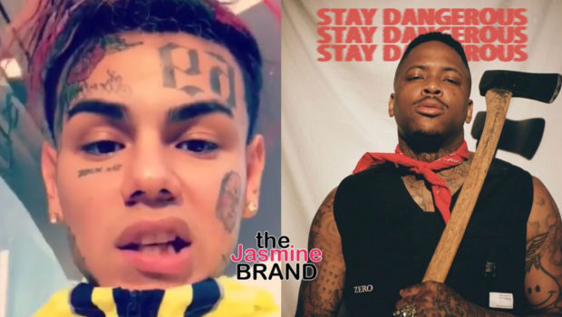 "6ix9ine Slams YG: ""You Had 3 Major Artists & Still Couldn't Pass Me,"" YG Responds"