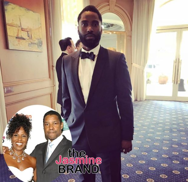 John David Washington Checks Interviewer Who Overlooked His Mother: She's A Great Artist In Her Own Right! [VIDEO]