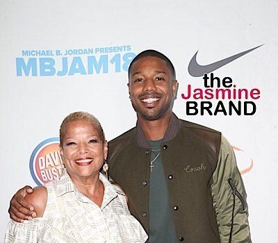 Michael B. Jordan Hits Lupus Event w/ Mother [Photos]