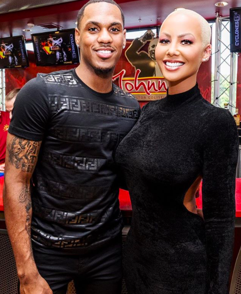 Amber Rose's New NBA Boyfriend BF Posts This Sweet Message
