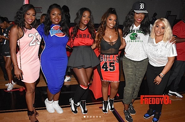 Kandi Burruss Throws 'Jerseys & Jordans' B-Day Bash For Hubby: Kenya Moore, Eva Marcille, Porsha Williams, Tiny Harris Attend