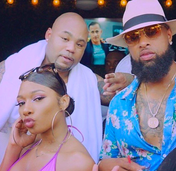 Evelyn Lozada's Ex Carl Crawford Rumored To Be Managing (& Dating) Rapper Megan Thee Stallion