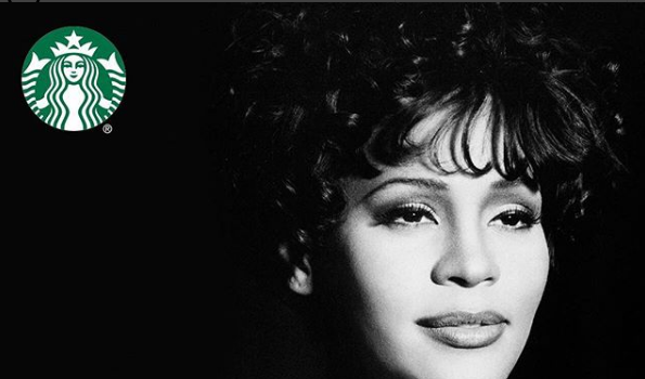 Starbucks Pays Homage To Whitney Houston