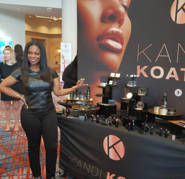 Kandi Burruss Announces New 'Kandi Koated' Makeup Line