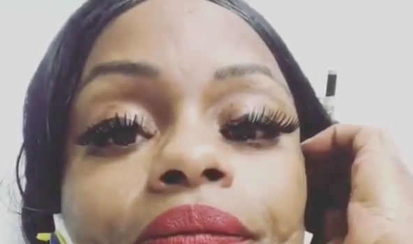 Blac Chyna's Mom Tokyo Toni In Car Accident [VIDEO]