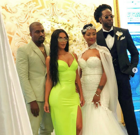 2 Chainz Weds Longtime Girlfriend Kesha Ward: Lil Wayne, Monica, Kanye, Kim Kardashian Attend